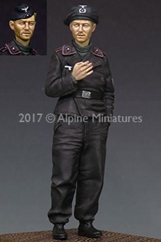 ALPINE MINIATURES 35207 WWII German AFV Crew Set Resin Figuren in 1:35