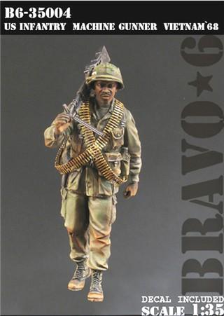 "Bravo6 1:35 Australian SAS /""Jungle make up/"" Vietnam 1968 B6-35019*"