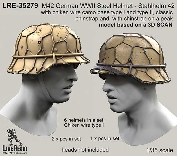 Live Resin German Helments